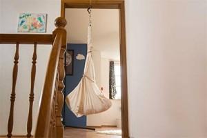 Hanging in door frame