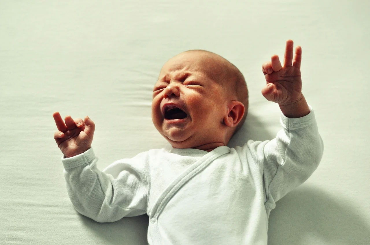 screaming baby